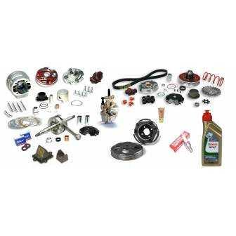 Preparación motor Minarelli LC Malossi TESTA ROSSA 95cc