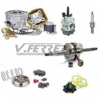 Preparación motor Minarelli Horizontal LC METRAKIT PRO3 74cc