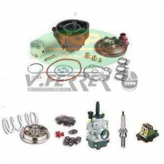 Preparación motor Minarelli Horizontal LC TOP ROSA 70cc
