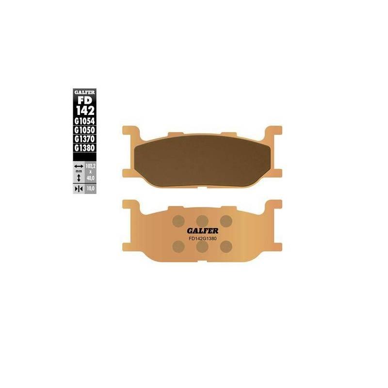 PASTILLAS FRENO GALFER FD142-G1380 (sinterizado)