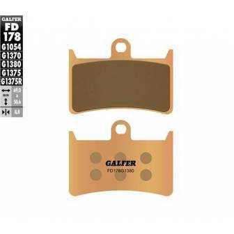 PASTILLAS FRENO GALFER FD178-G1380 MOTO (cerámico/metálico)