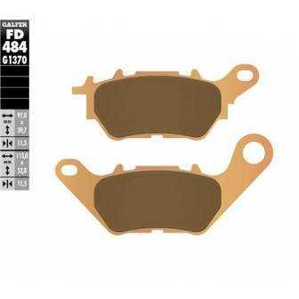 PASTILLAS FRENO GALFER FD484-G1370 (sinterizado)