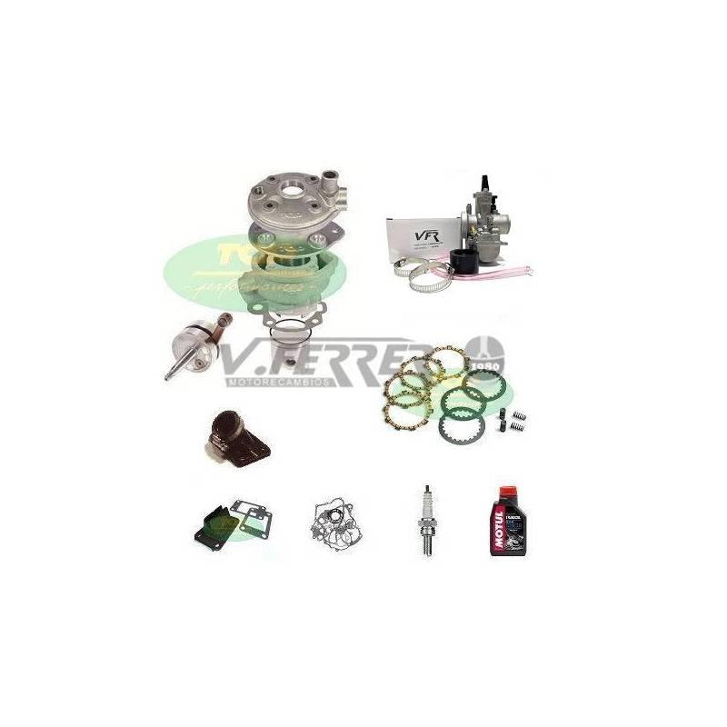 Preparación motor AM6 TOP TPR 86cc - Aluminio