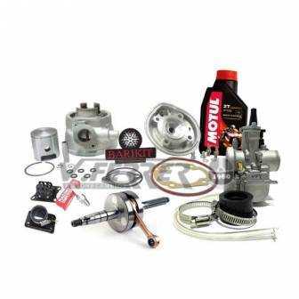Preparación motor Minarelli Horizontal LC BARIKIT 70cc