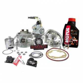 Preparación motor Minarelli Horizontal LC BARIKIT Alum 70cc