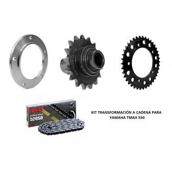Kit transformación a cadena Yamaha Tmax 530