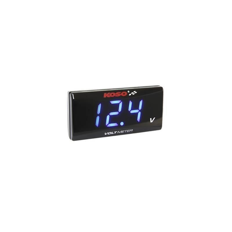 Reloj voltímetro KOSO Azul BA024B00
