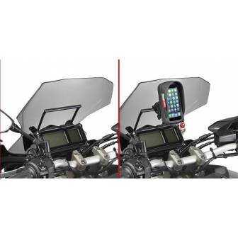 BARRA SOPORTE SMARTPHONE/GPS GIVI FB2122