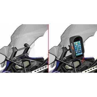 BARRA SOPORTE SMARTPHONE/GPS GIVI FB2130