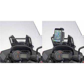 BARRA SOPORTE SMARTPHONE/GPS GIVI FB4120