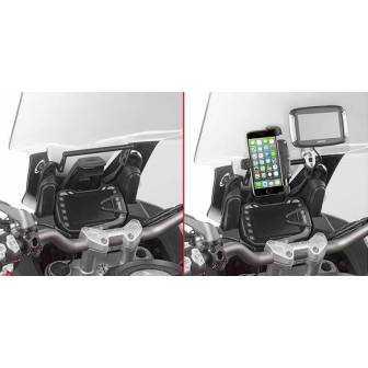 BARRA SOPORTE SMARTPHONE/GPS GIVI FB7408