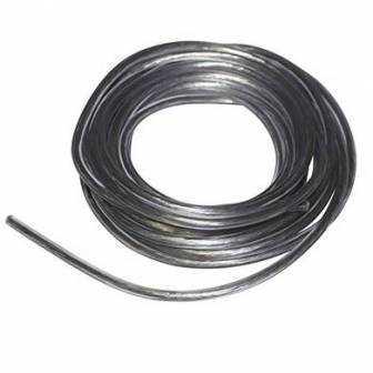 Bobina 5 metros cable bujía/bobina (5mm) transparente