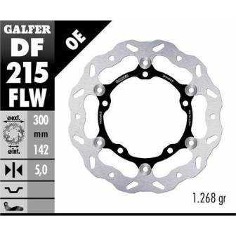 DISCO FRENO GALFER WAVE 300x5mm DF215FLW