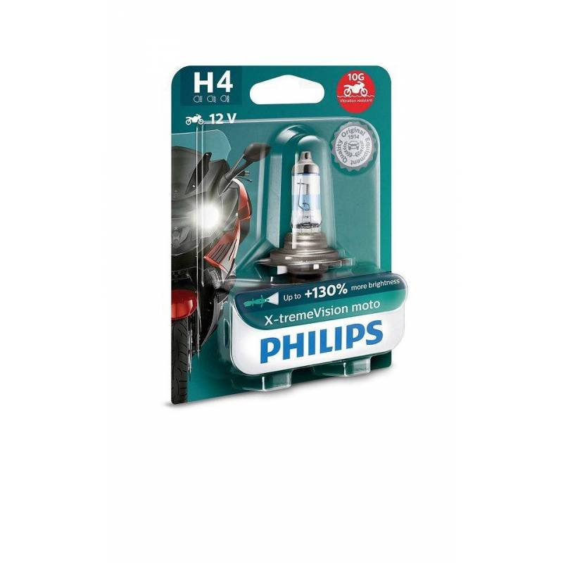 LÁMPARA PHILIPS H-4 12V 60/55W X-TREMEVISION 12342XV+BW