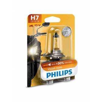 LÁMPARA PHILIPS H-7 12V 55W VISIONMOTO 12972PRBW