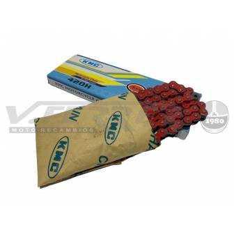 Cadena KMC reforzada 420 - 134 Pasos
