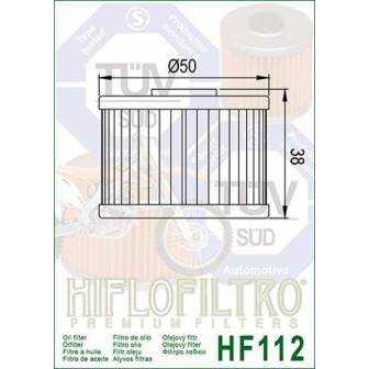 FILTRO ACEITE HIFLOFILTRO HF112