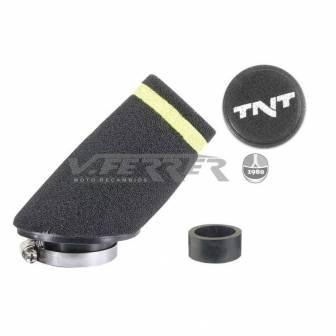 Filtro de aire pequeño TNT RACING 30º Ø28/35 MM