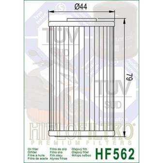FILTRO ACEITE HIFLOFILTRO HF562