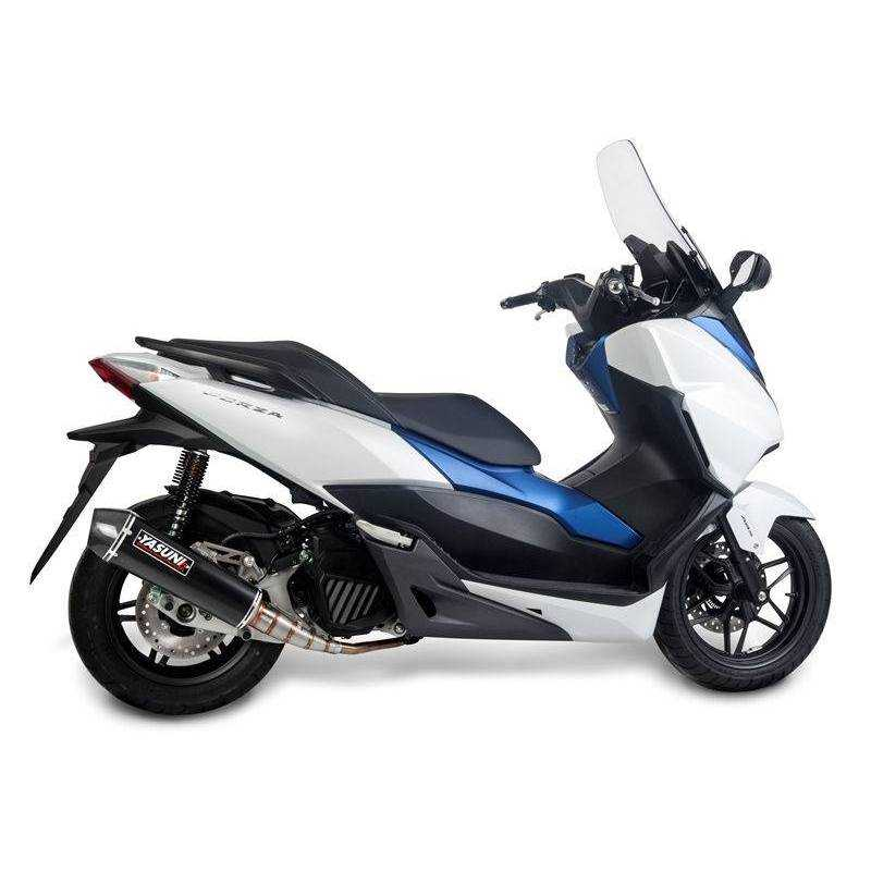 Escape Yasuni Honda Forza 125 TUB656BC Black Carbon