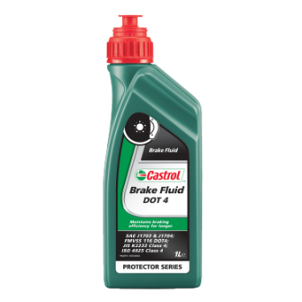 Aceite CASTROL liquido frenos DOT 4 1L
