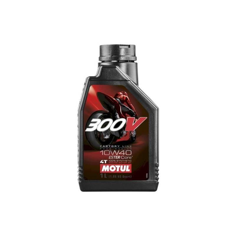 Aceite MOTUL moto 300V 10W40 FACTORY LINE 1 LITRO