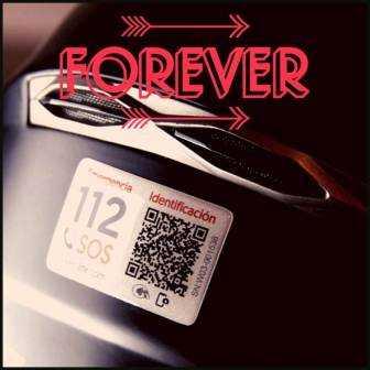 Sticker4life FOREVER Servicio Identificación