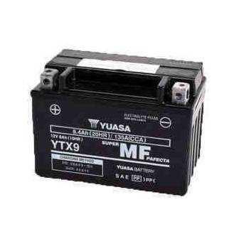 BATERIA YUASA YTX9-WC (YTX9-BS-ACTIVADA) 12V 8Ah