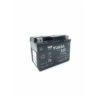 BATERIA YUASA YTX4L-WC (YTX4L-BS) ACTIVADA 12V 3Ah
