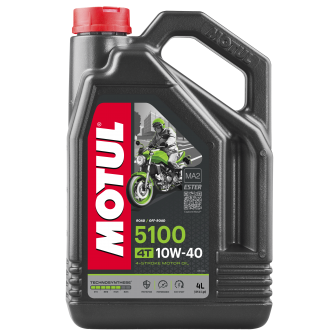 Aceite MOTUL moto 5100 10W40 4T 4 LITROS