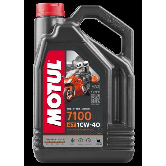 Aceite MOTUL moto 7100 10W40 4T 4 LITROS
