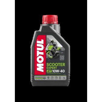 Aceite MOTUL moto SCOOTER 10W40 4T 1 LITRO