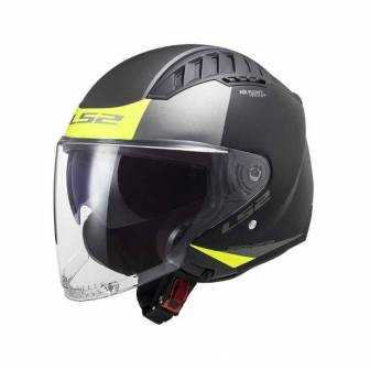 CASCO LS2 COPTER OF600 URBAN-matt-black-h-v-yellow-306002111