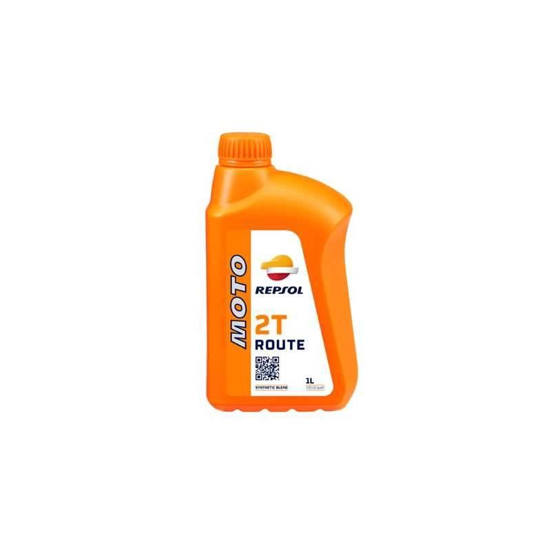 Aceite REPSOL moto ROUTE SINTETICO 2T 1 LITRO