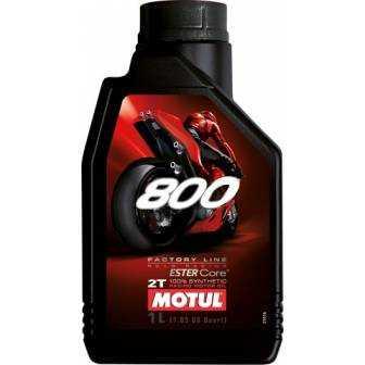 Aceite MOTUL moto 800 2T factory line road racing 1 LITRO