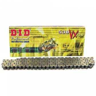Cadena transmision D.I.D 530 VX 112 PASOS