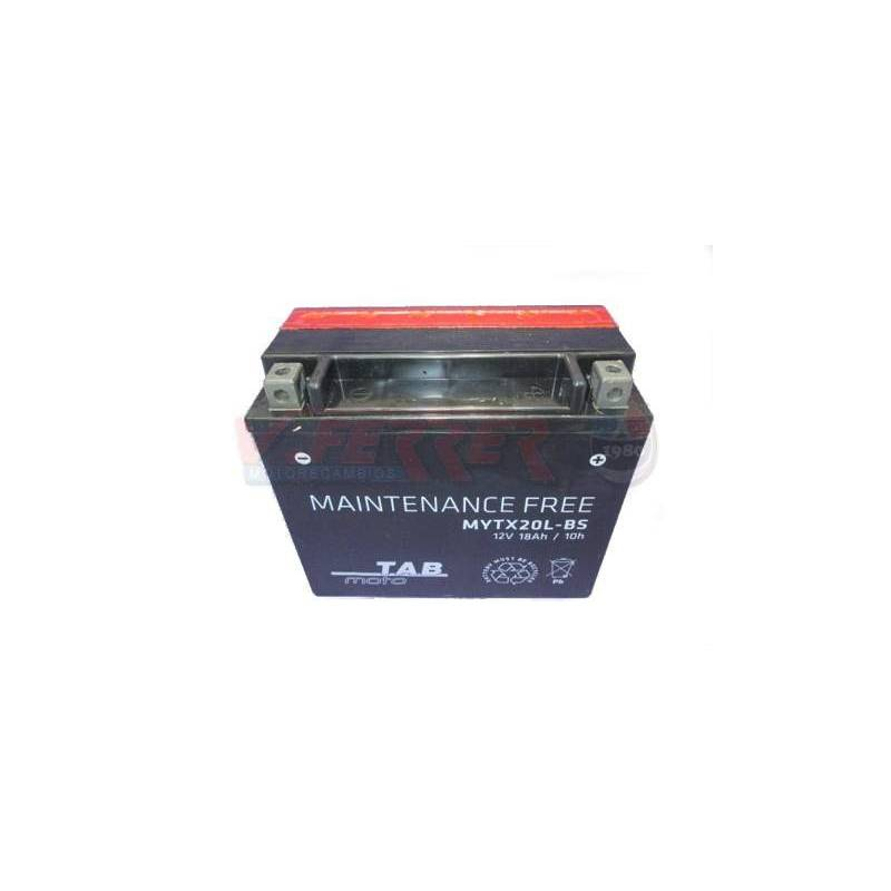 Bateria para moto TAB YTX20L-BS