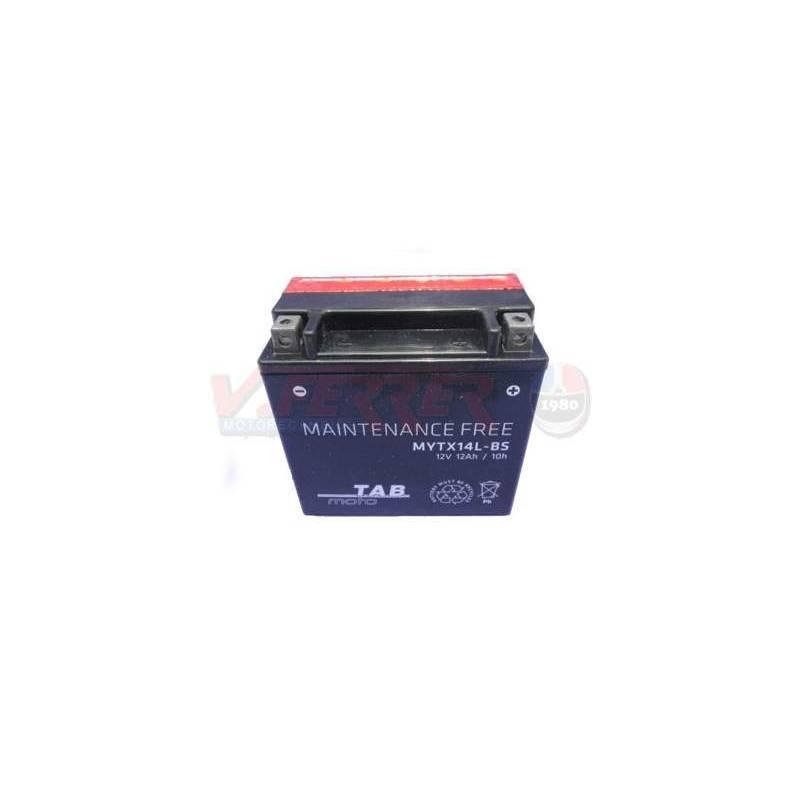 Bateria para moto TAB YTX14L-BS HARLEY