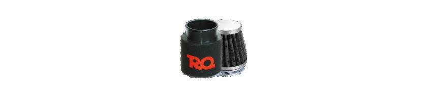 Filtros aire potencia RQ, Voca y Malossi para motos 2T y 4T