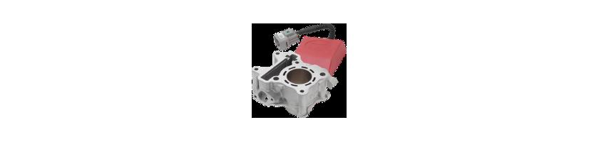 Kit cilindro y centralita eléctronica Top Performance para moto
