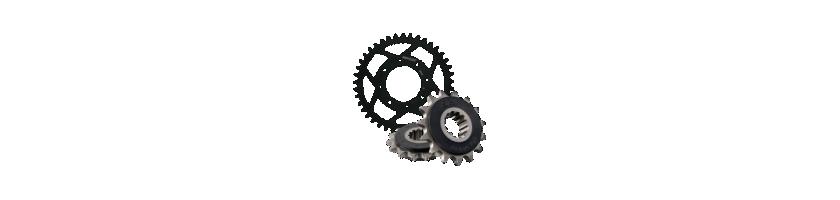 Platos y piños para moto y ciclomotor  | MotorecambiosVFerrer