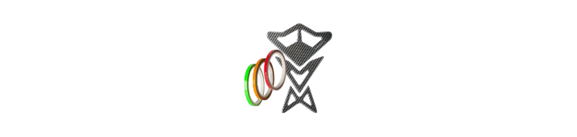 Adhesivos y pegatinas para moto, quad y scooter