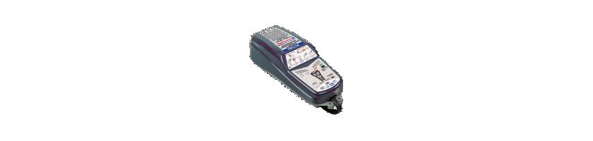 Cargadores de batería Optimate para moto o ciclomotor.