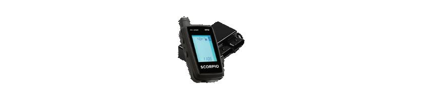 Pelacrash, Scorpion, On Board, TNT - Alarmas para moto y scooter