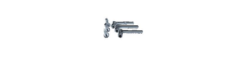 Herramientas y útiles para válvulas de culata de motos.