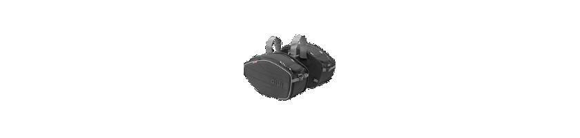 Alforjas y bolsas laterales Givi para moto y scooter | Promoción