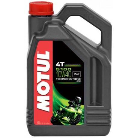 Aceites y lubreicantes Motul para moto 4 tiempos