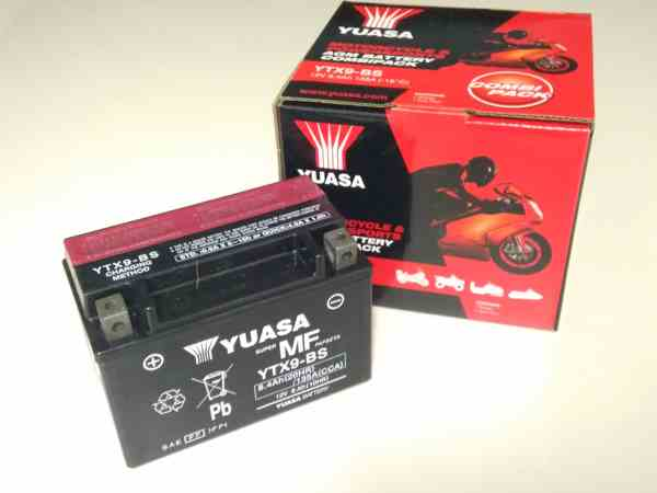La bateria en mal estado es una de las causas principales que no permiten el arranque de la moto