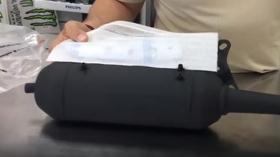 Protección lateral del escape Tecnigas homologado