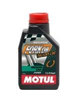 Aceites para horquilla de moto de Repsol y Motul.